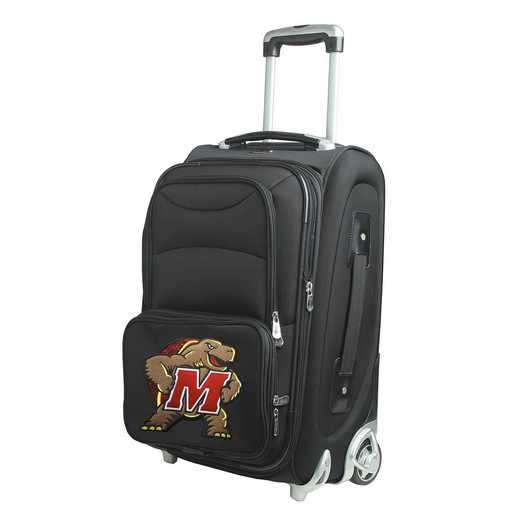 CLMDL203: NCAA Maryland Terrapins  Carry-On  Rllng Sftsd Nyln